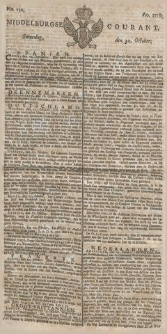 Middelburgsche Courant 1779-10-30