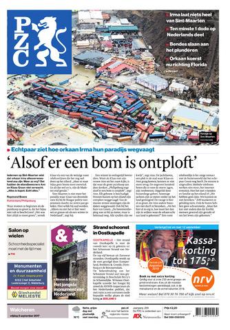 Provinciale Zeeuwse Courant 2017-09-08