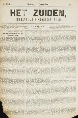 Het Zuiden, Christelijk-historisch blad 1877-12-11