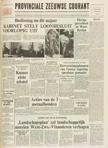 Provinciale Zeeuwse Courant 1968-05-29
