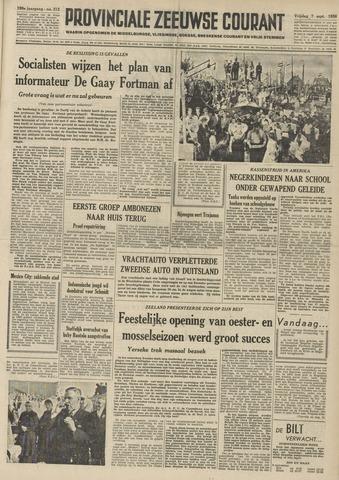 Provinciale Zeeuwse Courant 1956-09-07