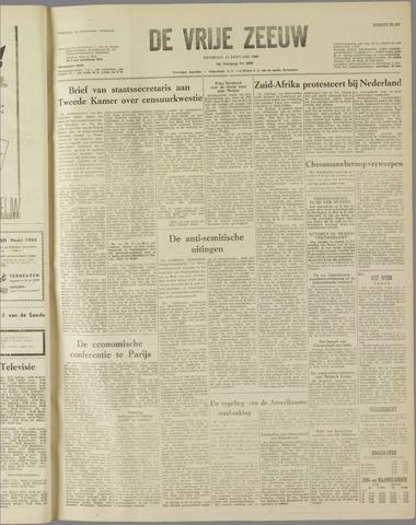 de Vrije Zeeuw 1960-01-12