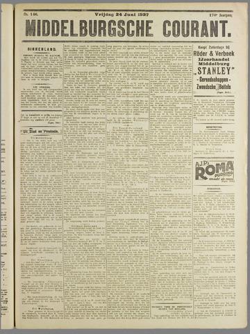 Middelburgsche Courant 1927-06-24
