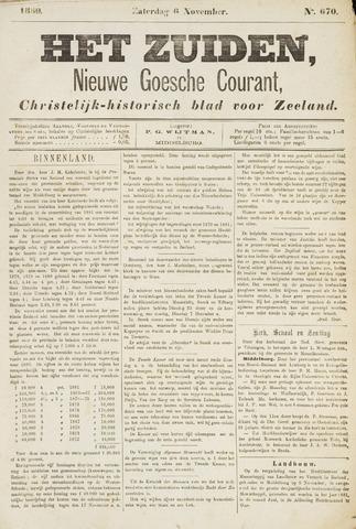 Het Zuiden, Christelijk-historisch blad 1880-11-06