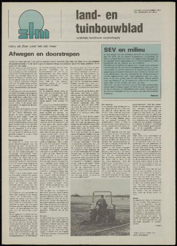 Zeeuwsch landbouwblad ... ZLM land- en tuinbouwblad 1991-09-20