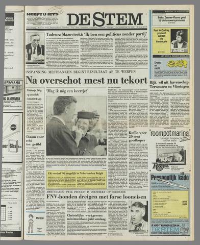 de Stem 1989-08-30