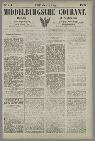 Middelburgsche Courant 1883-09-11