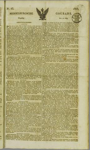 Middelburgsche Courant 1825-07-12