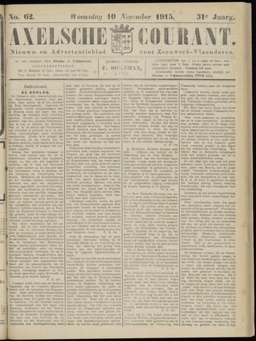 Axelsche Courant 1915-11-10