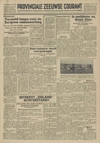 Provinciale Zeeuwse Courant 1948-11-10