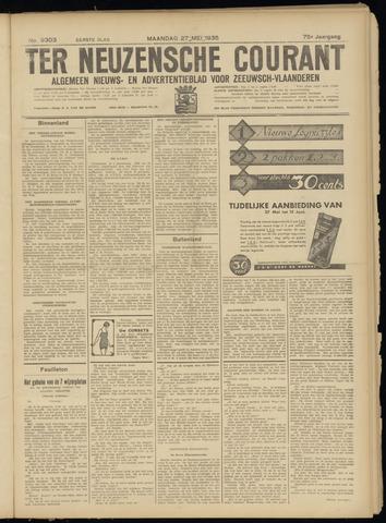 Ter Neuzensche Courant. Algemeen Nieuws- en Advertentieblad voor Zeeuwsch-Vlaanderen / Neuzensche Courant ... (idem) / (Algemeen) nieuws en advertentieblad voor Zeeuwsch-Vlaanderen 1935-05-27