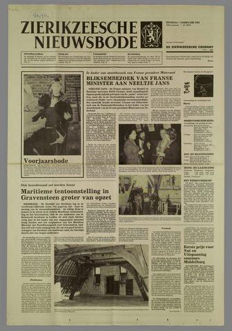 Zierikzeesche Nieuwsbode 1984-02-07