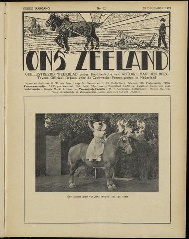 Ons Zeeland / Zeeuwsche editie 1929-12-28