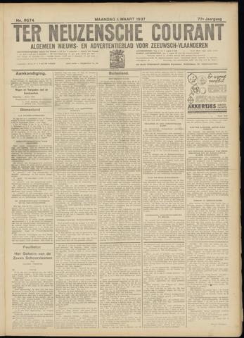 Ter Neuzensche Courant. Algemeen Nieuws- en Advertentieblad voor Zeeuwsch-Vlaanderen / Neuzensche Courant ... (idem) / (Algemeen) nieuws en advertentieblad voor Zeeuwsch-Vlaanderen 1937-03-01