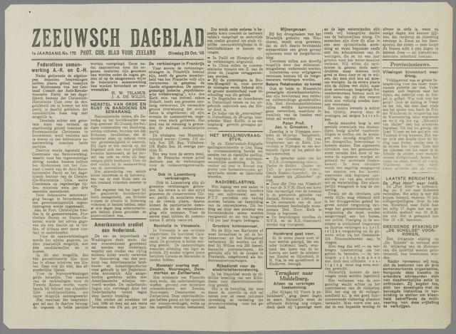 Zeeuwsch Dagblad 1945-10-23