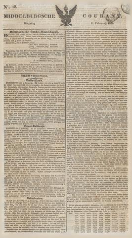 Middelburgsche Courant 1834-02-11