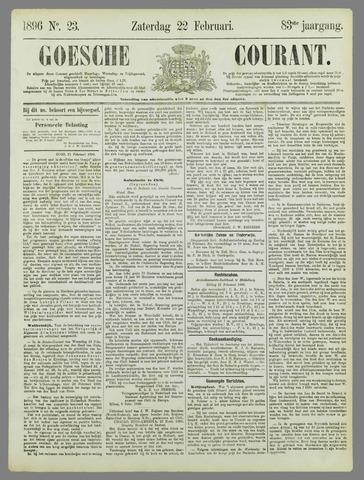 Goessche Courant 1896-02-22