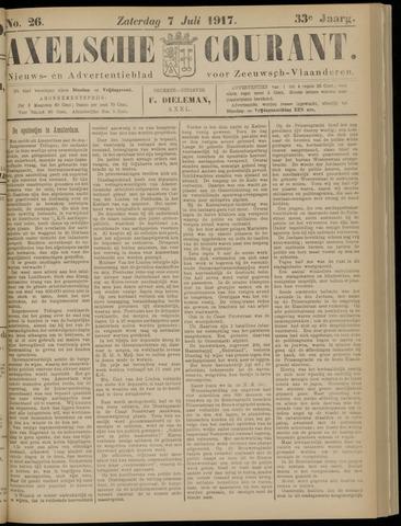 Axelsche Courant 1917-07-07