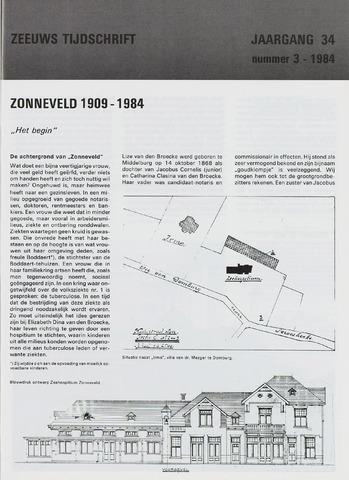 Zeeuws Tijdschrift 1984-05-01