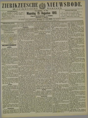 Zierikzeesche Nieuwsbode 1910-08-15
