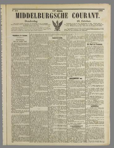 Middelburgsche Courant 1906-10-25