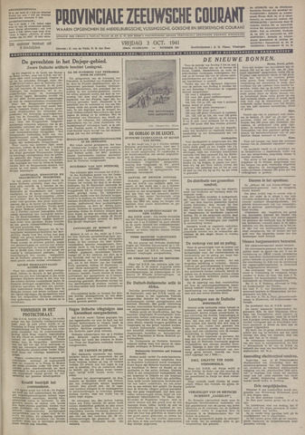 Provinciale Zeeuwse Courant 1941-10-03