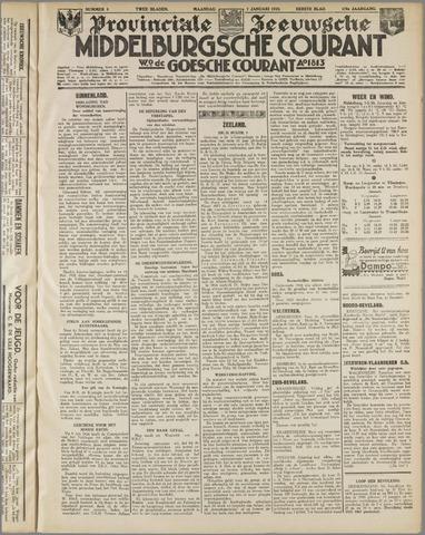 Middelburgsche Courant 1935-01-07