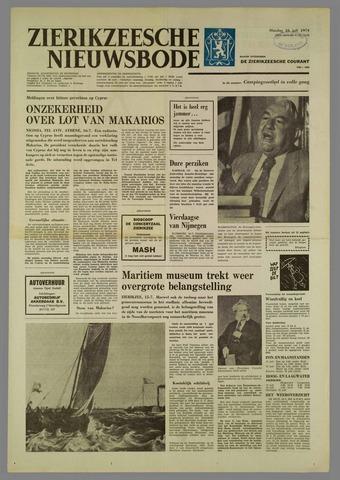 Zierikzeesche Nieuwsbode 1974-07-16