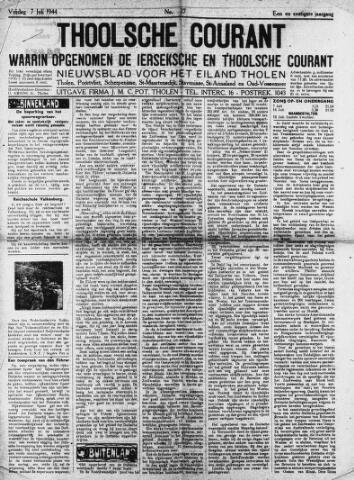 Ierseksche en Thoolsche Courant 1944-07-07