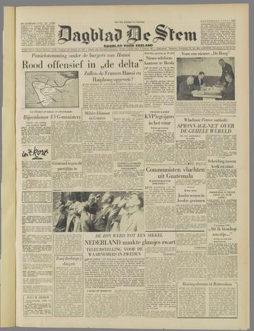 de Stem 1954-07-01