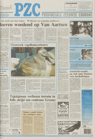 Provinciale Zeeuwse Courant 1995-01-14