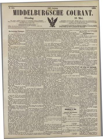 Middelburgsche Courant 1902-05-13