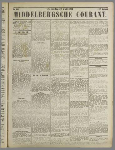 Middelburgsche Courant 1919-07-16