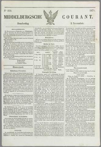 Middelburgsche Courant 1871-11-02