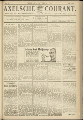 Axelsche Courant 1926-10-22