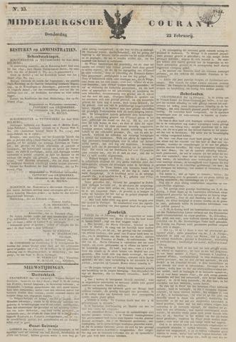 Middelburgsche Courant 1844-02-22