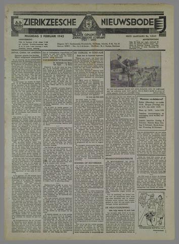 Zierikzeesche Nieuwsbode 1942-02-02