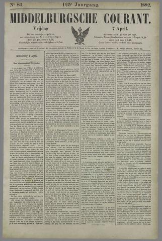Middelburgsche Courant 1882-04-07