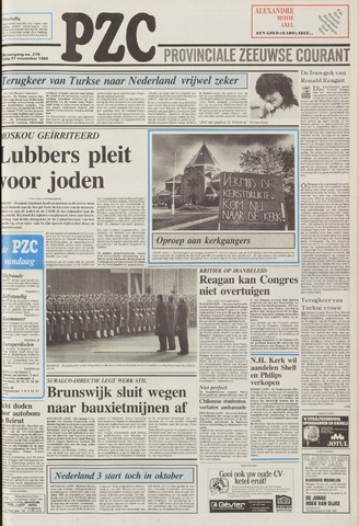 Provinciale Zeeuwse Courant 1986-11-21