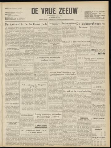 de Vrije Zeeuw 1954-07-08