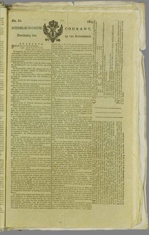 Middelburgsche Courant 1809-06-29