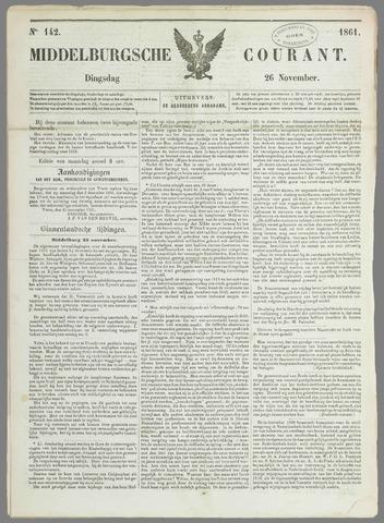 Middelburgsche Courant 1861-11-26
