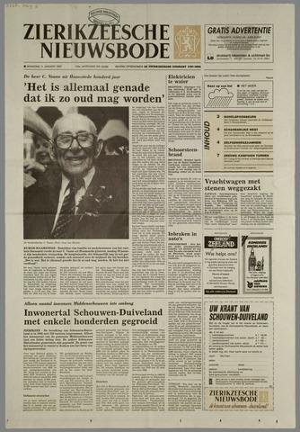Zierikzeesche Nieuwsbode 1993-01-11