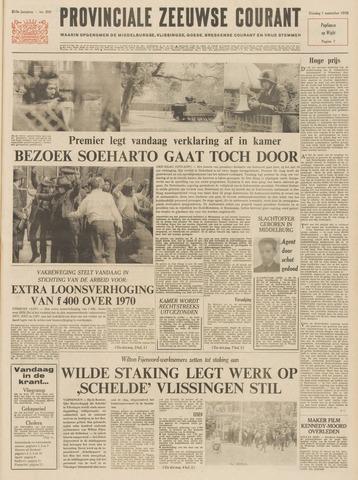 Provinciale Zeeuwse Courant 1970-09-01