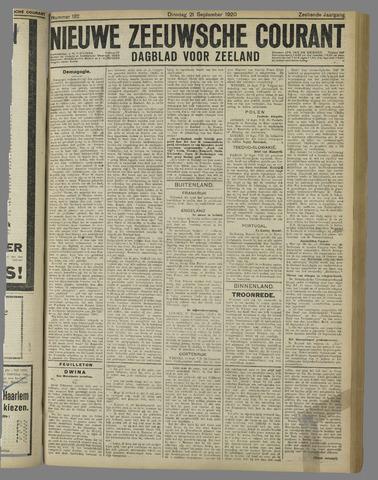 Nieuwe Zeeuwsche Courant 1920-09-21