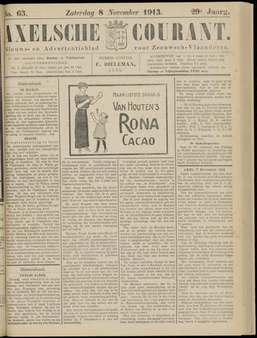Axelsche Courant 1913-11-08