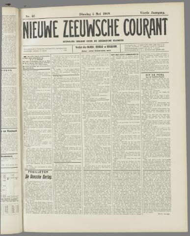 Nieuwe Zeeuwsche Courant 1908-05-05