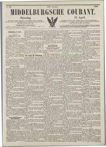 Middelburgsche Courant 1901-04-13