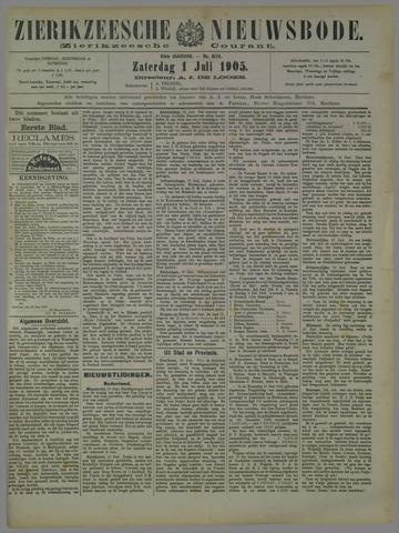 Zierikzeesche Nieuwsbode 1905-07-01