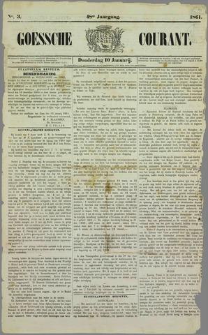 Goessche Courant 1861-01-10